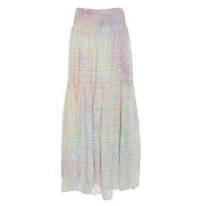 LoveShackFancy Pastel Tie-Dyed Linda Skirt